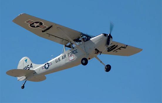 Cessna L 19 Bird Dog Warhawk Air Museum Nampa Idaho