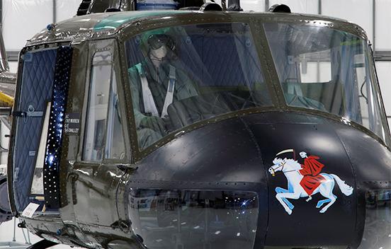 Huey Bell UH-1C Triplane