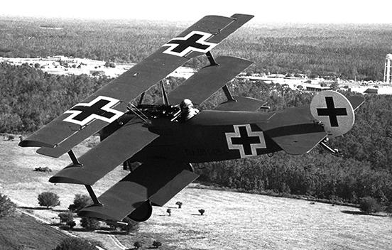 Blue Max Fokker DR-1 Triplane