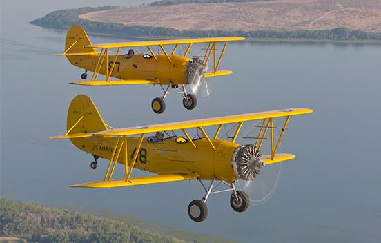 Warhawk Air Museum, Nampa, ID., Naval Aircraft Factory N3N airplane.