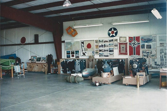 Warhawk Air Museum in a small hangar at the Caldwell, ID airport.
