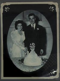 Leonard and Nancy Rutan, a military romance story woven with parachute silk