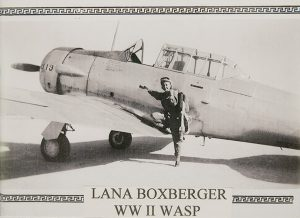 WASP member Lana Boxberger, one of the first women in the Air Force to fly