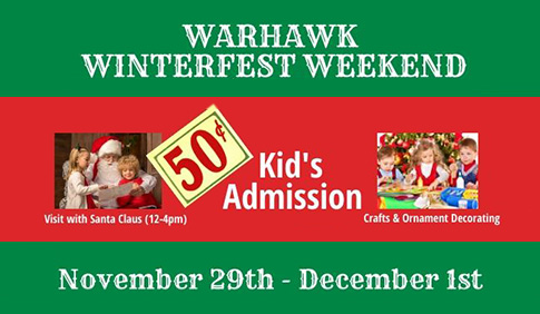 Warhawk Winterfest Weekend: November 29-December 1