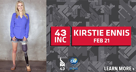Learn more about 43INC with Kirstie Ennis