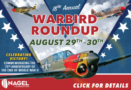 Warbird Roundup 2020 Tickets on Sale