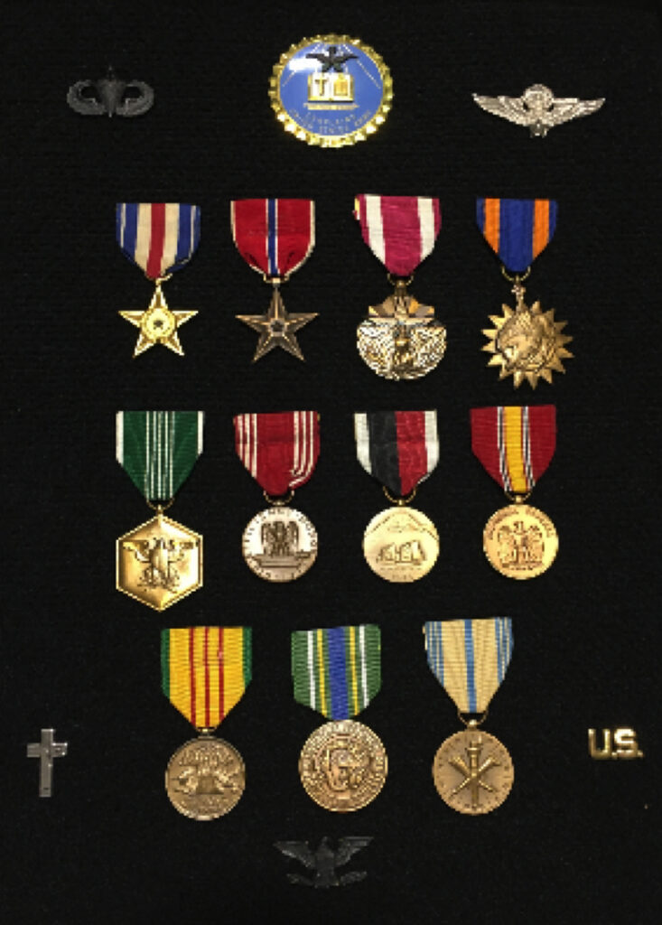 Curt Bowers' military medals