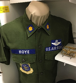 John Hoye's Vietnam uniform