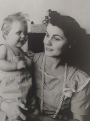 Irene Tolmie with daughter