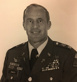 Curt Bowers military portrait