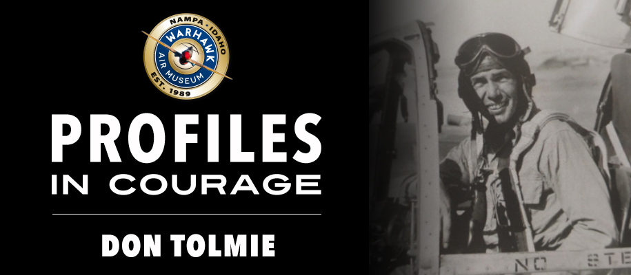 Profiles in Courage: Don Tolmie
