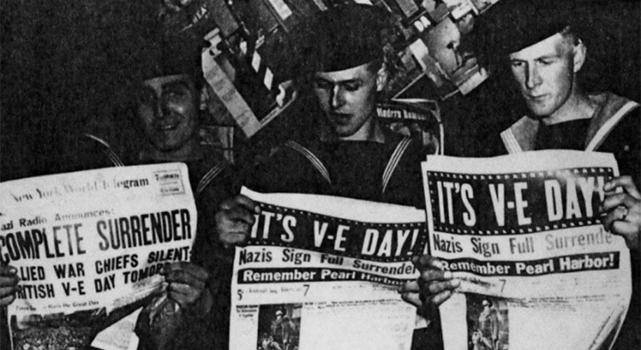 British soldiers in New York