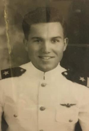 Nat Adams military portrait