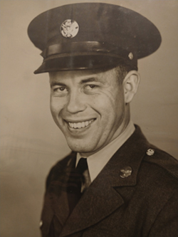 David Haggard portrait in uniform