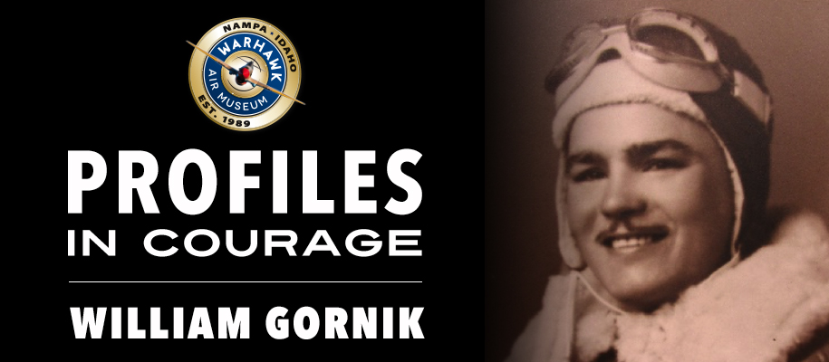 Profiles in Courage: William Gornik