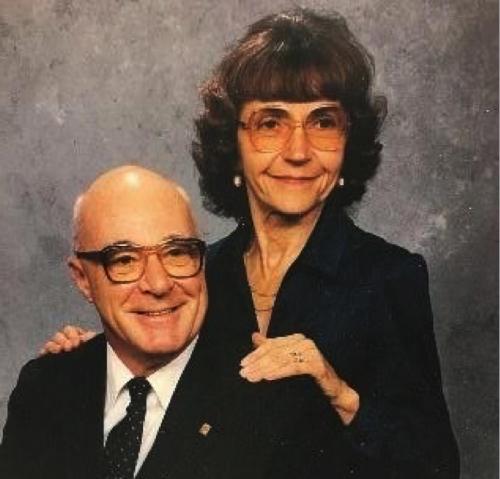 Portrait of Grace and Vernon Pankow