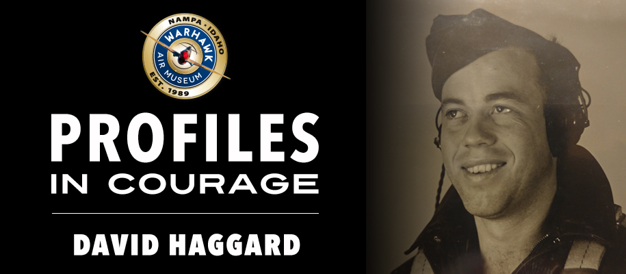 Profiles in courage: David Haggard