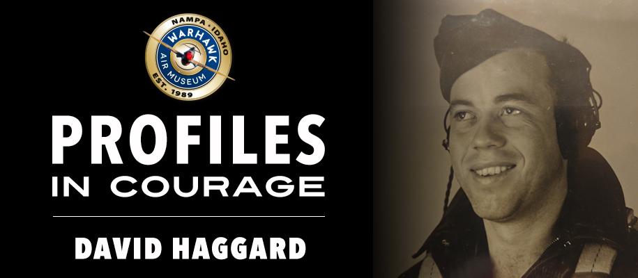 Profiles in courage: David Haggard