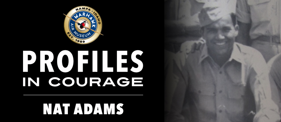 Profiles in Courage: Nat Adams