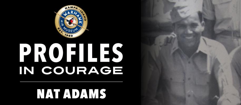 Profiles in Courage: Nat Adams