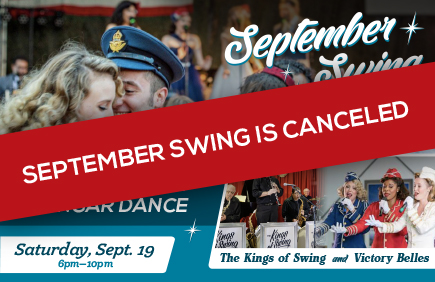 September Swing Hangar Dance 2020 is canceled