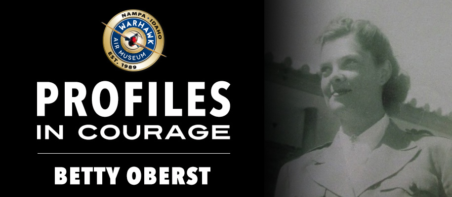 Profiles in Courage: Betty Oberst