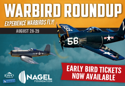 Warbird Roundup early bird tickets now available