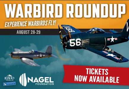 Warbird Roundup tickets now available