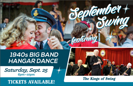 September Swing tickets now available